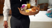 Room servis raňajky